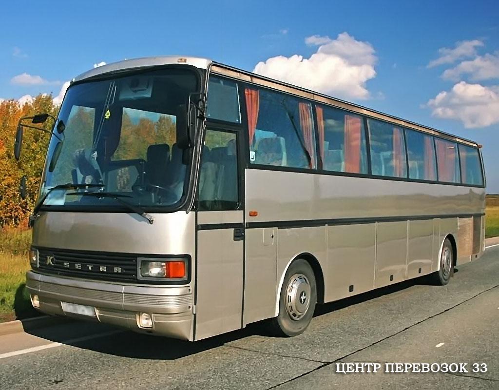 заказ автобуса во Владимире