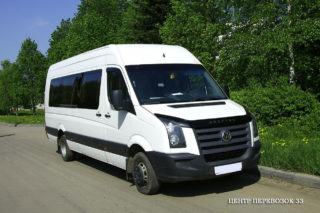 аренда микроавтобуса Volkswagen Crafter